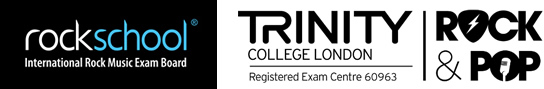 Rockschool and Trinity Logos